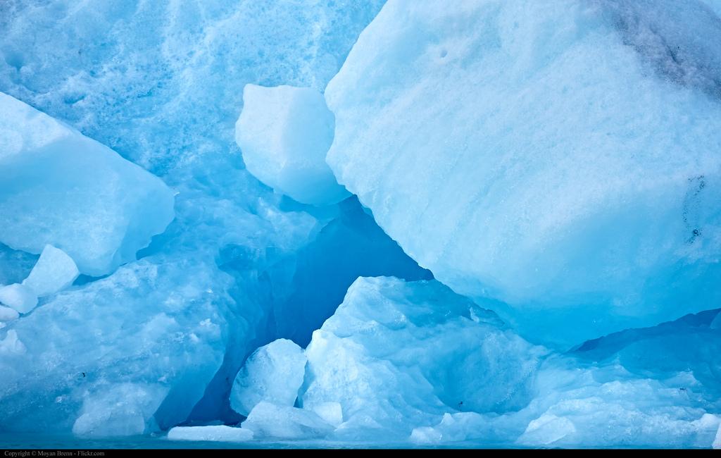 Кристалы льда, Голубая Лагуна