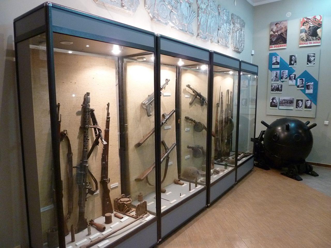 Орловский военно-исторический музей, зал Великой Отечественной войны