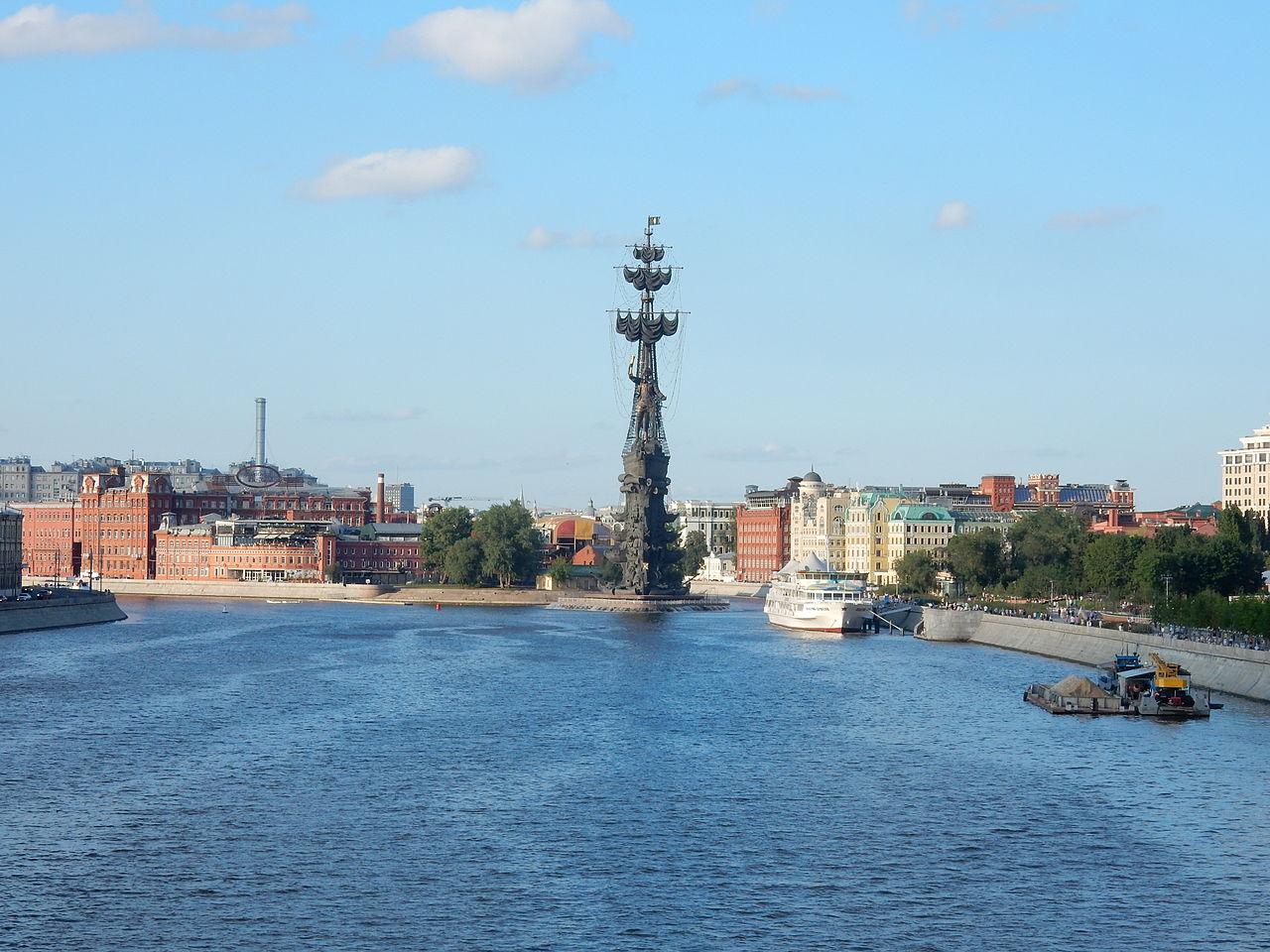 Памятник Петру I в Москве, Церетели