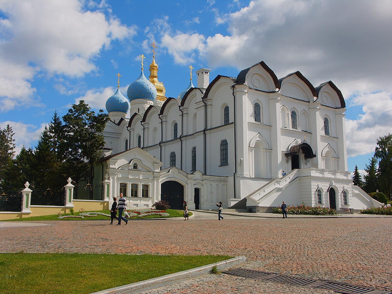 Благовещенский собор Казанского кремля, вход