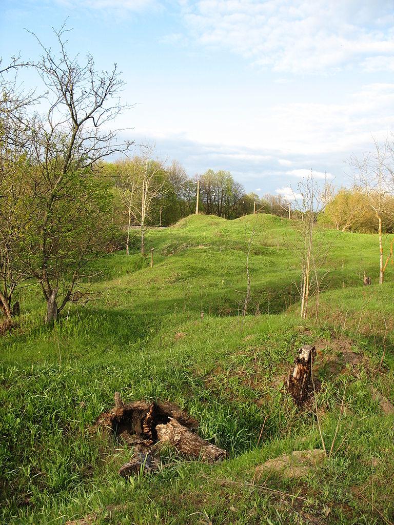 Гнездовские курганы, древнее гнёздовское городище