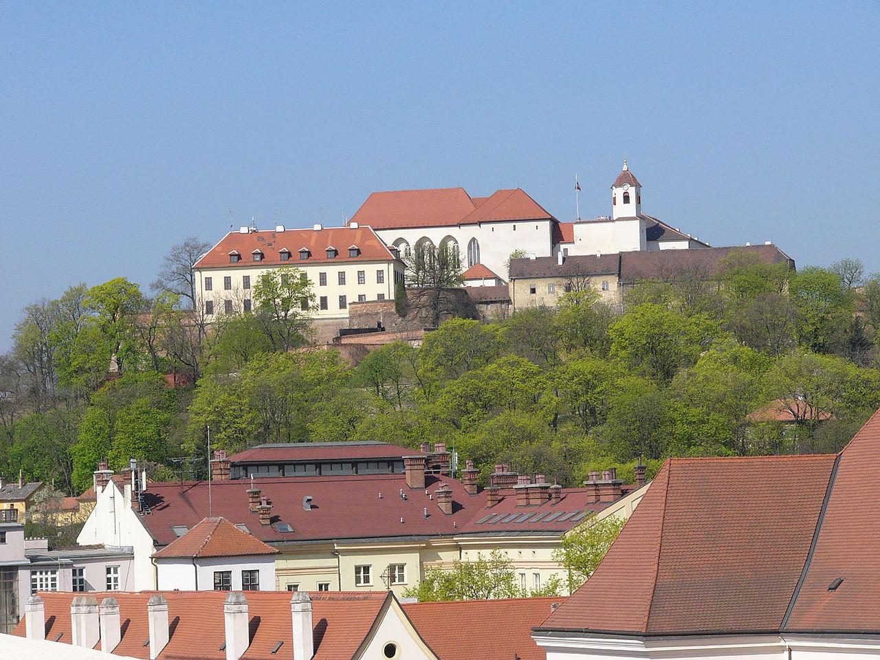 Замок Шпильберг, Чехия