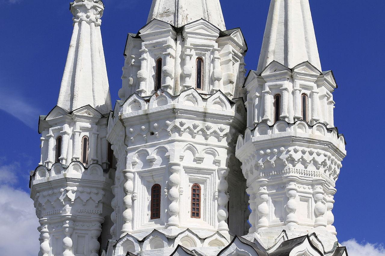 Вяземский Иоанно-Предтеченский монастырь, шатры церкви Одигитрии