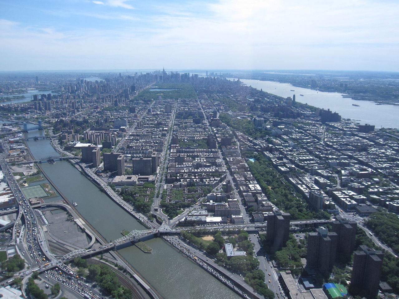 Гарлем, вид с воздуха