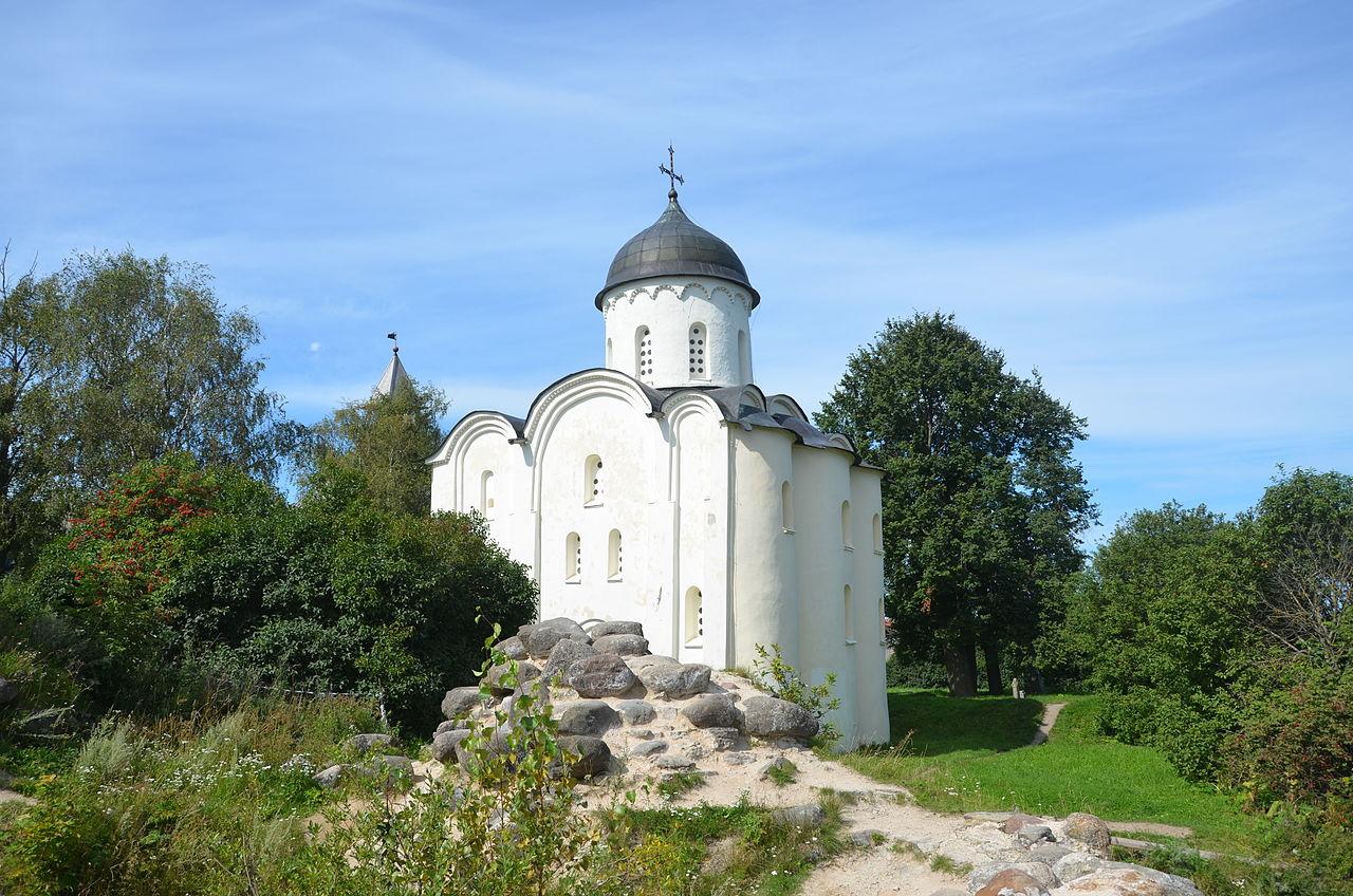 Старая ладога церковь георгия победоносца видео