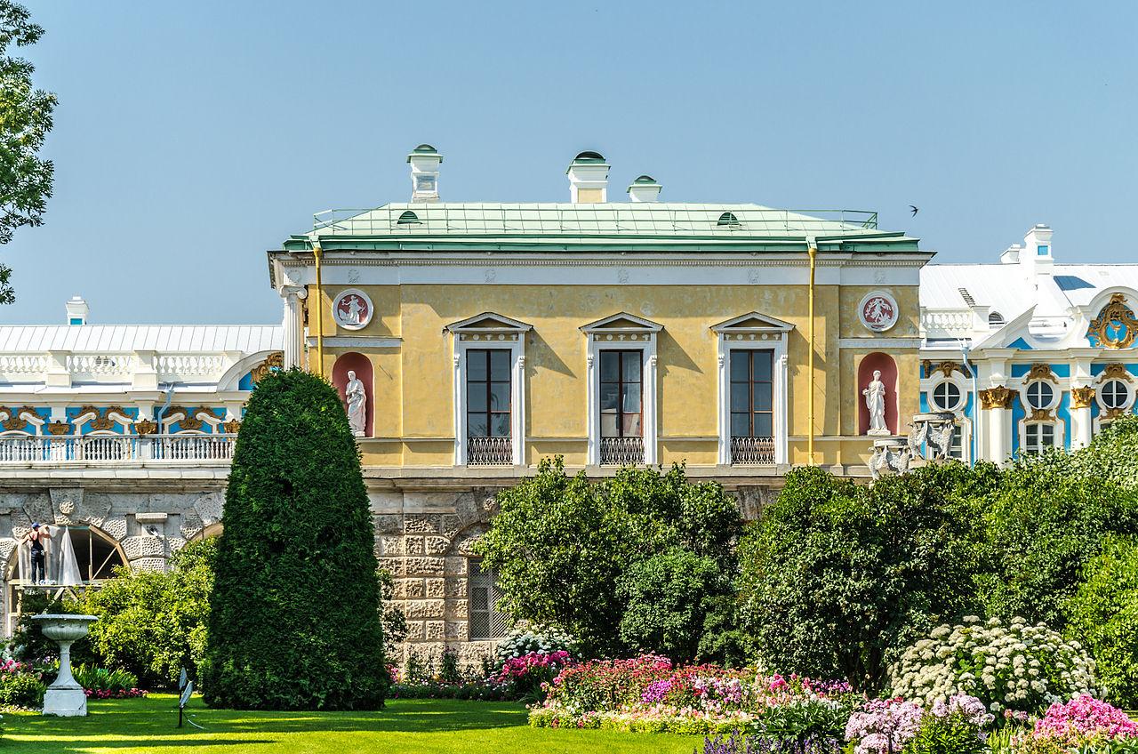 Екатерининский парк в Пушкине, Холодная баня с Агатовыми комнатами