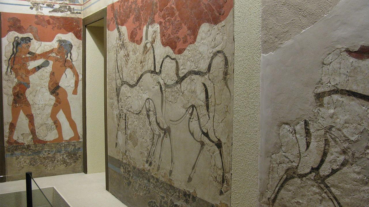 Национальный археологический музей, фрески