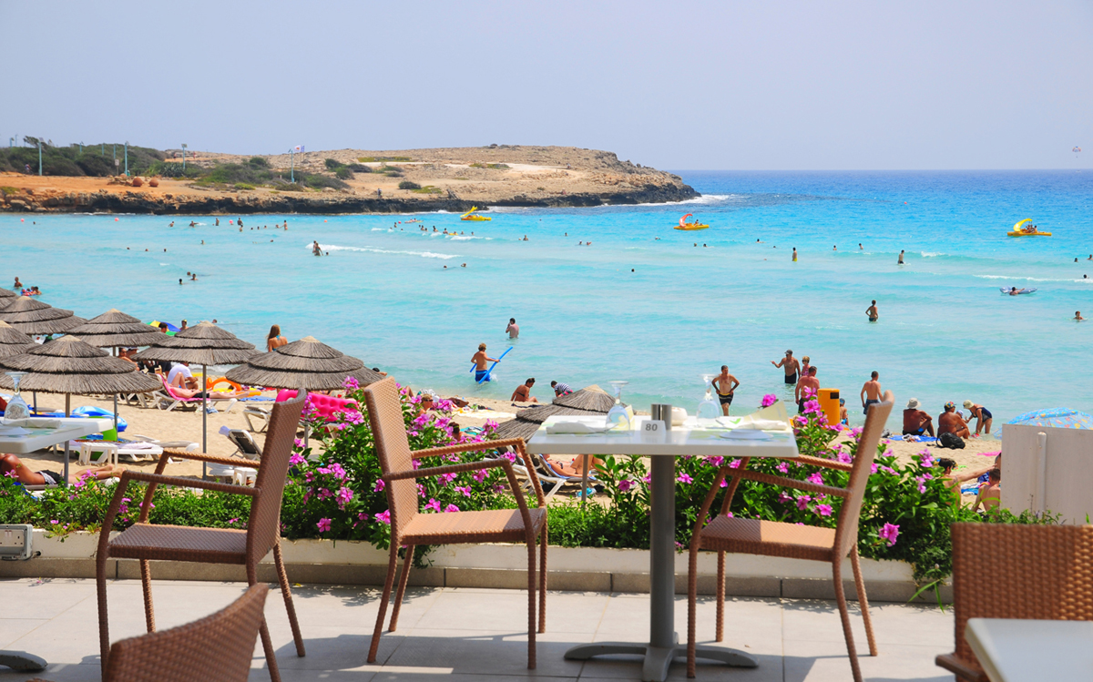 пляжи Айя-Напа Кипр