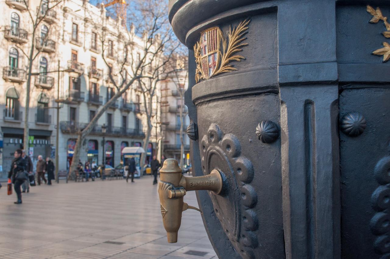 Фонтан Каналетес в Барселоне, фрагмент