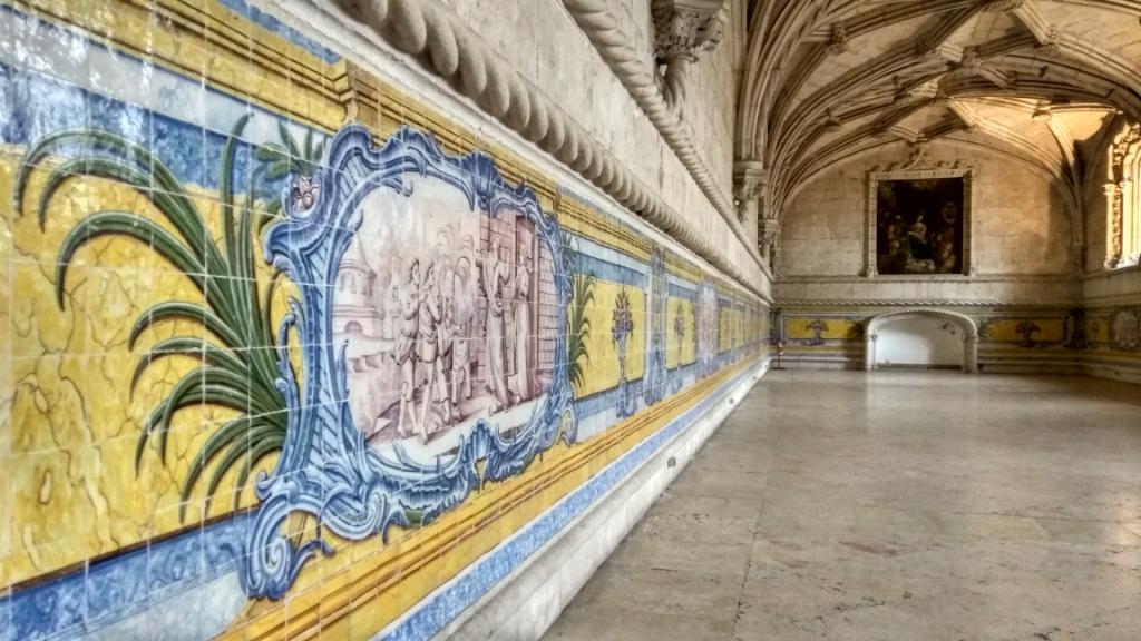В монастыре Жеронимуш, Лиссабон