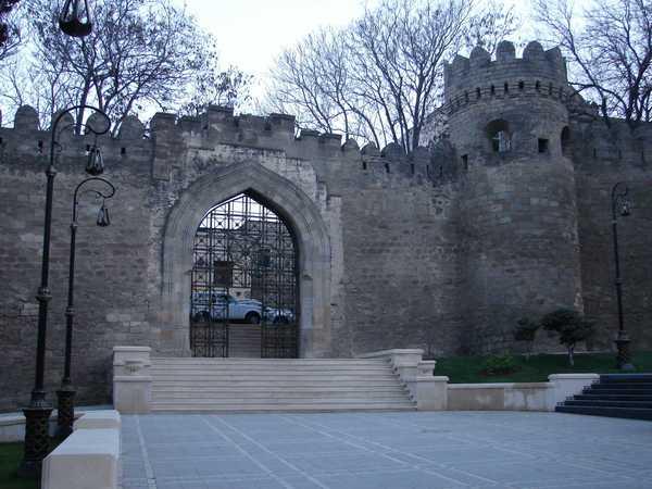 Ичери Шехер в Баку, Азербайджан