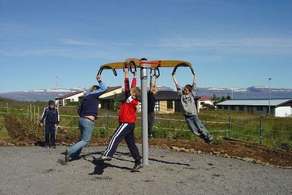Развлечения в семейном парке Raggagardur, Исландия
