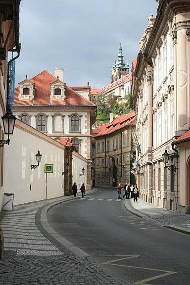 Улочки Мала Страна, Прага