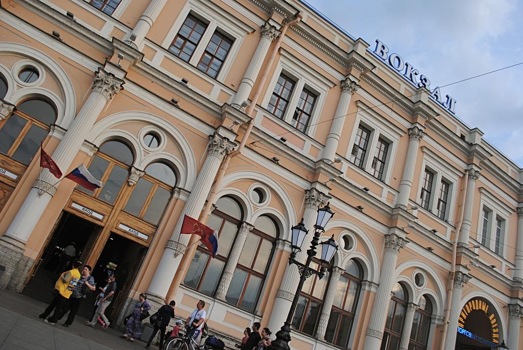 Фасад Московского вокзала, Санкт-Петербург