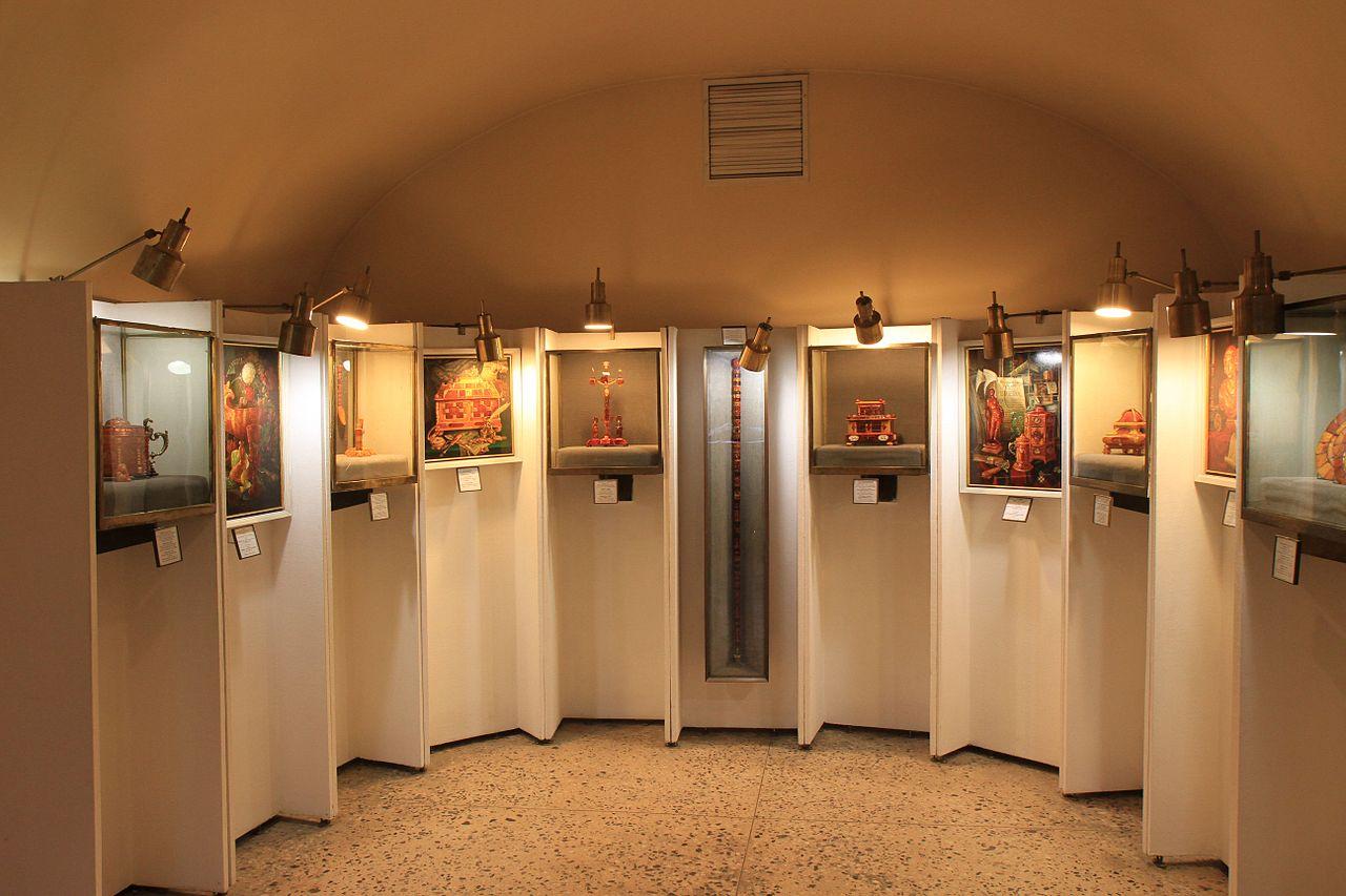 Музей янтаря, экспозиция