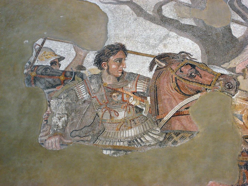 Старинная мозаика, Археологический музей Неаполя