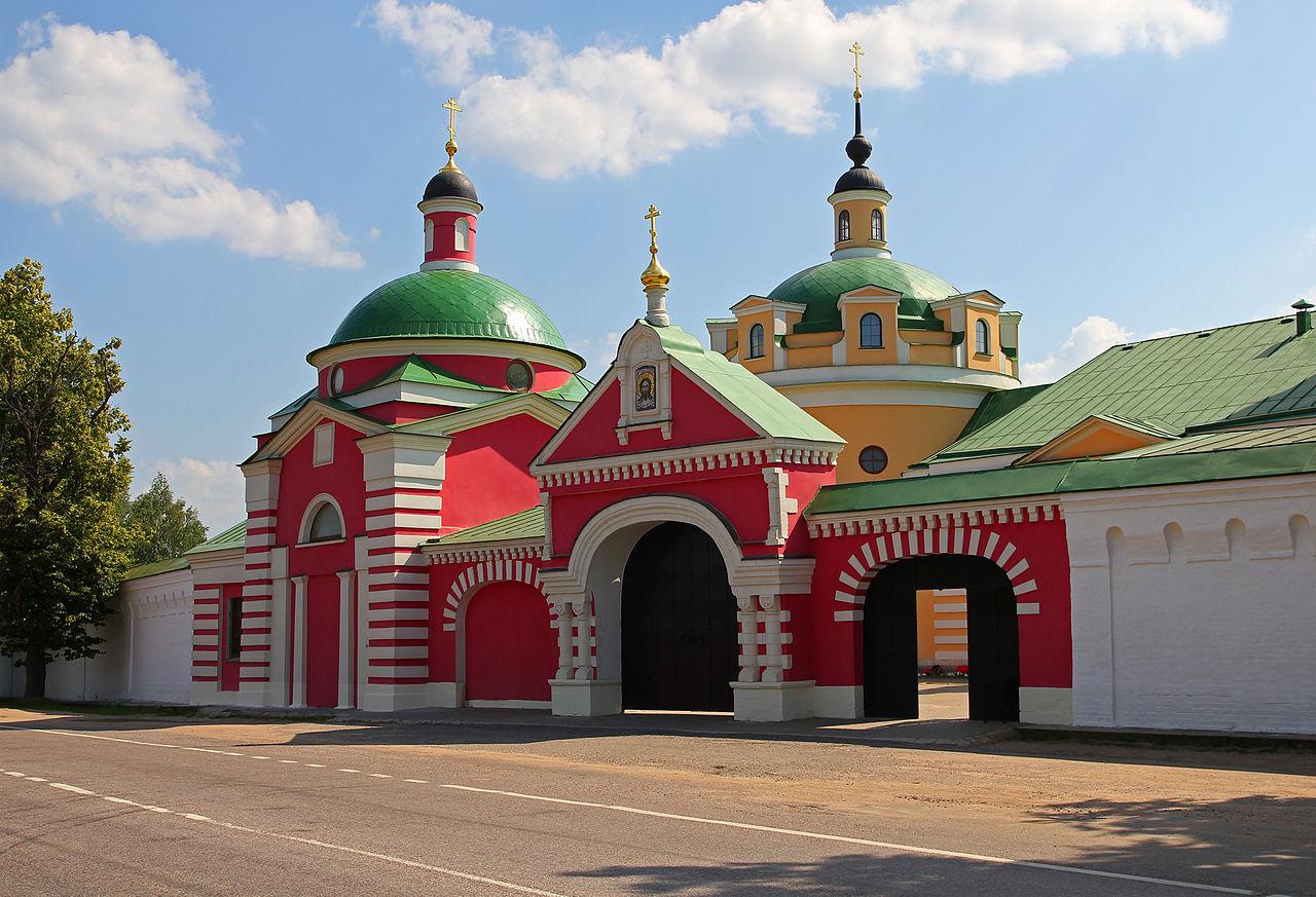 Аносин Борисоглебский монастырь, вход