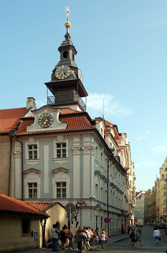 Йозефов, Еврейская ратуша