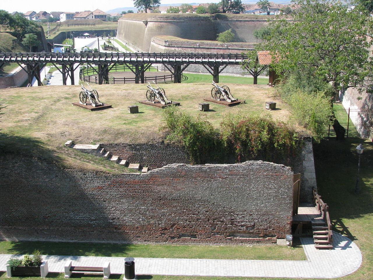 Крепость Алба-Юлия, форт