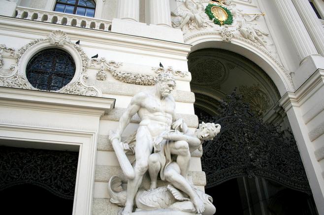 Фасад резиденции Хофбург