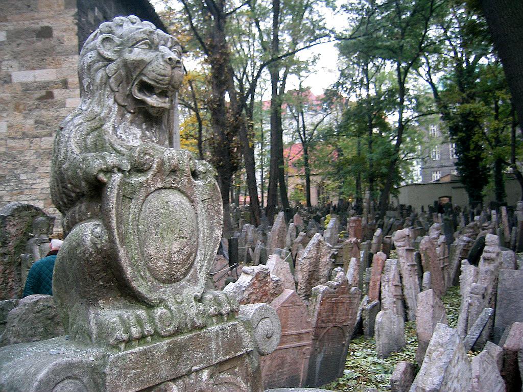 Йозефов, Старое еврейское кладбище
