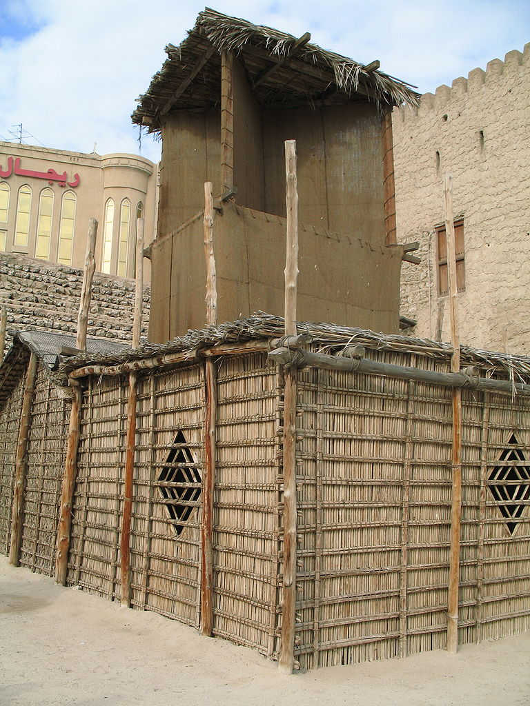 Форт Аль-Фахиди, башня-кондиционер