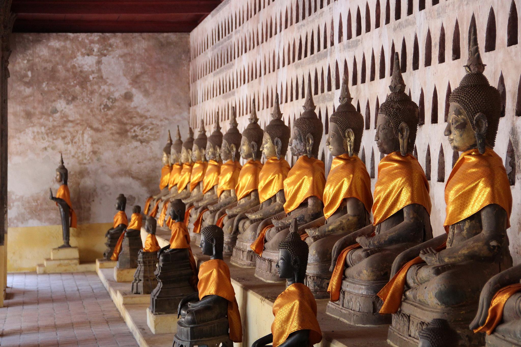 Вечные монахи, Ват Сакет на Золотой горе