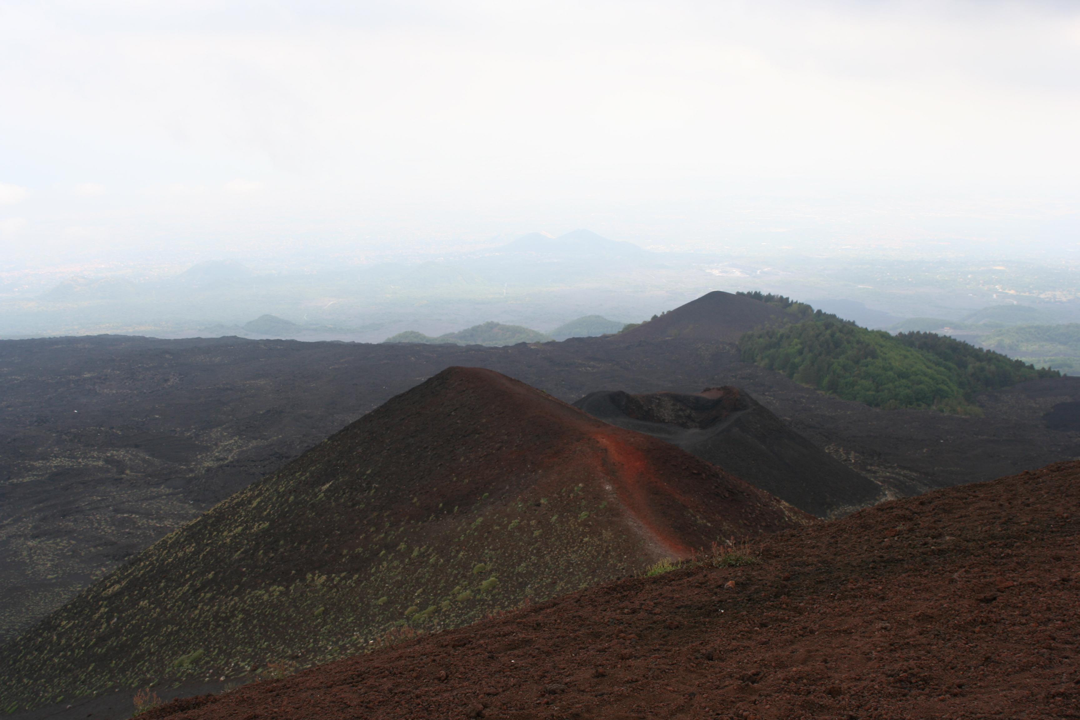 Вулкан Этна на Сицилии, Италия