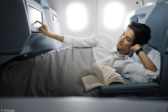 Кровати в бизнес-классе Finnair.jpg