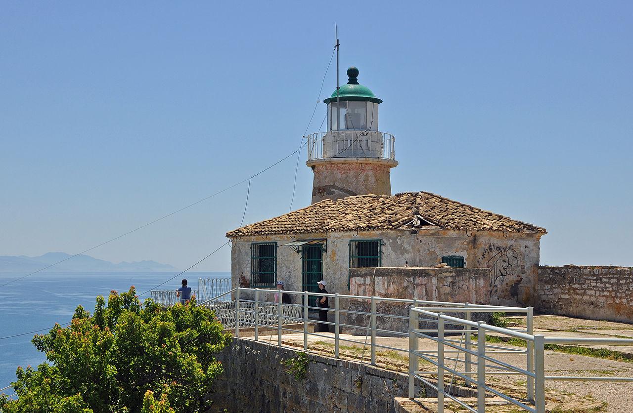 Старая крепость Керкиры, маяк