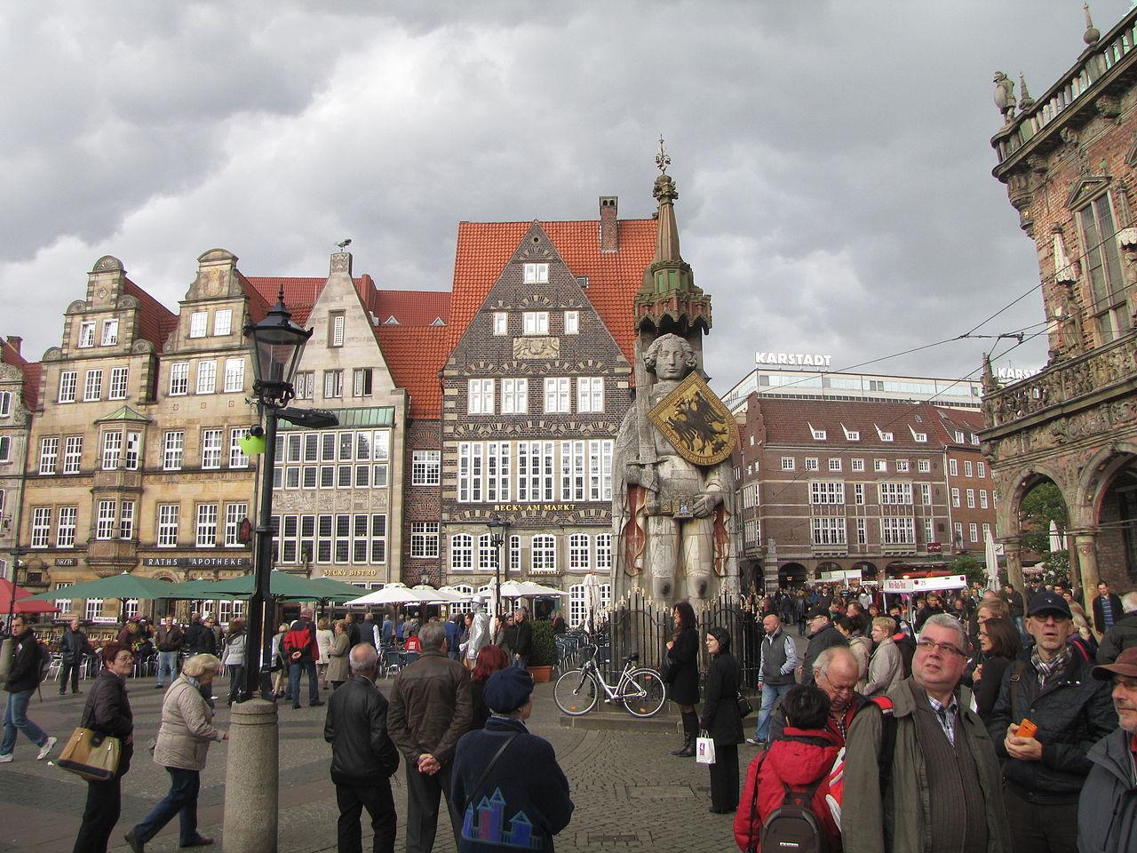 Статуя Роланда на Рыночной площади, Бремен