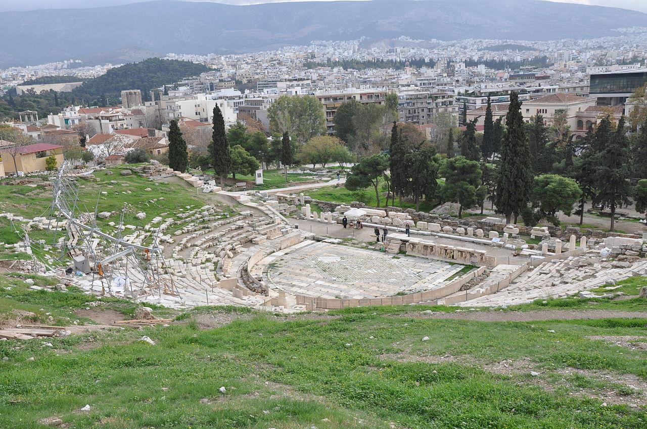Афинский театр Диониса