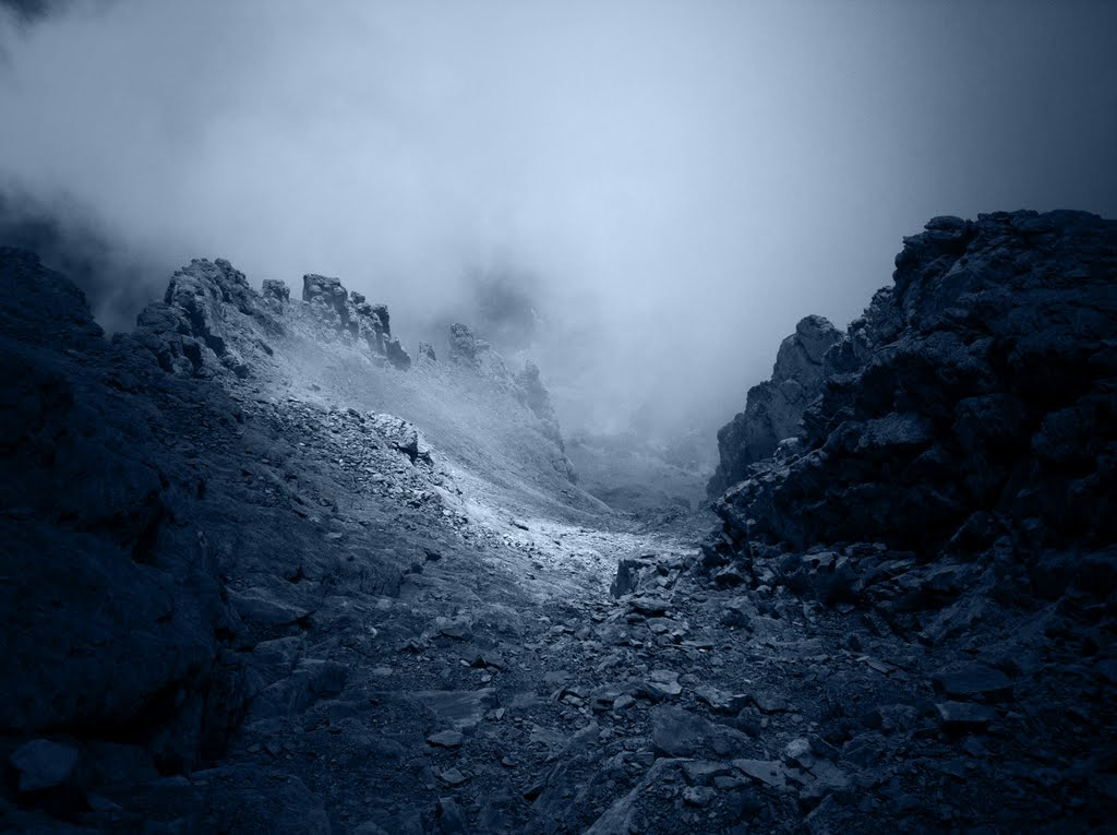 Туман в горах, Гора Олимп