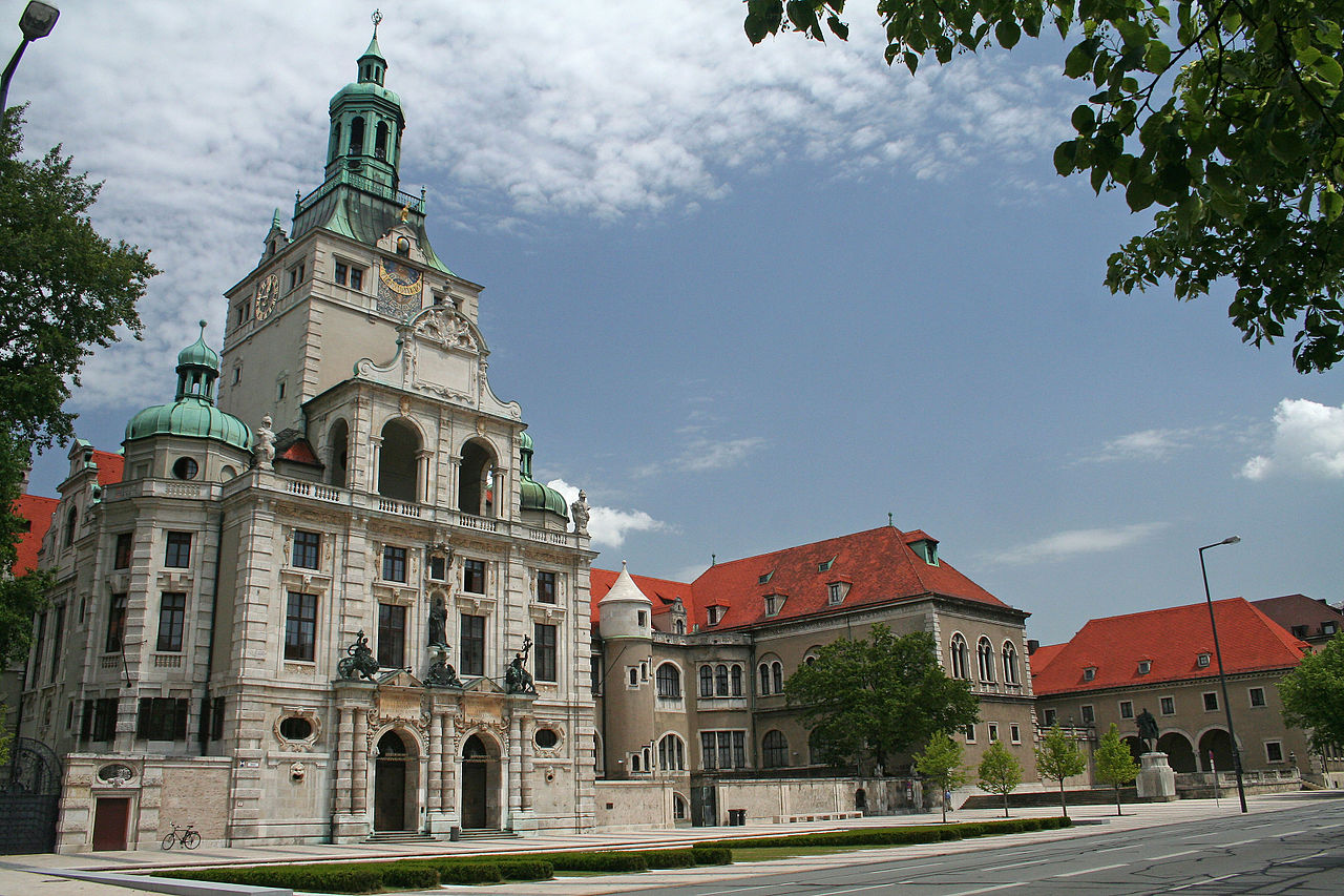 Баварский национальный музей в Мюнхене, главное здание