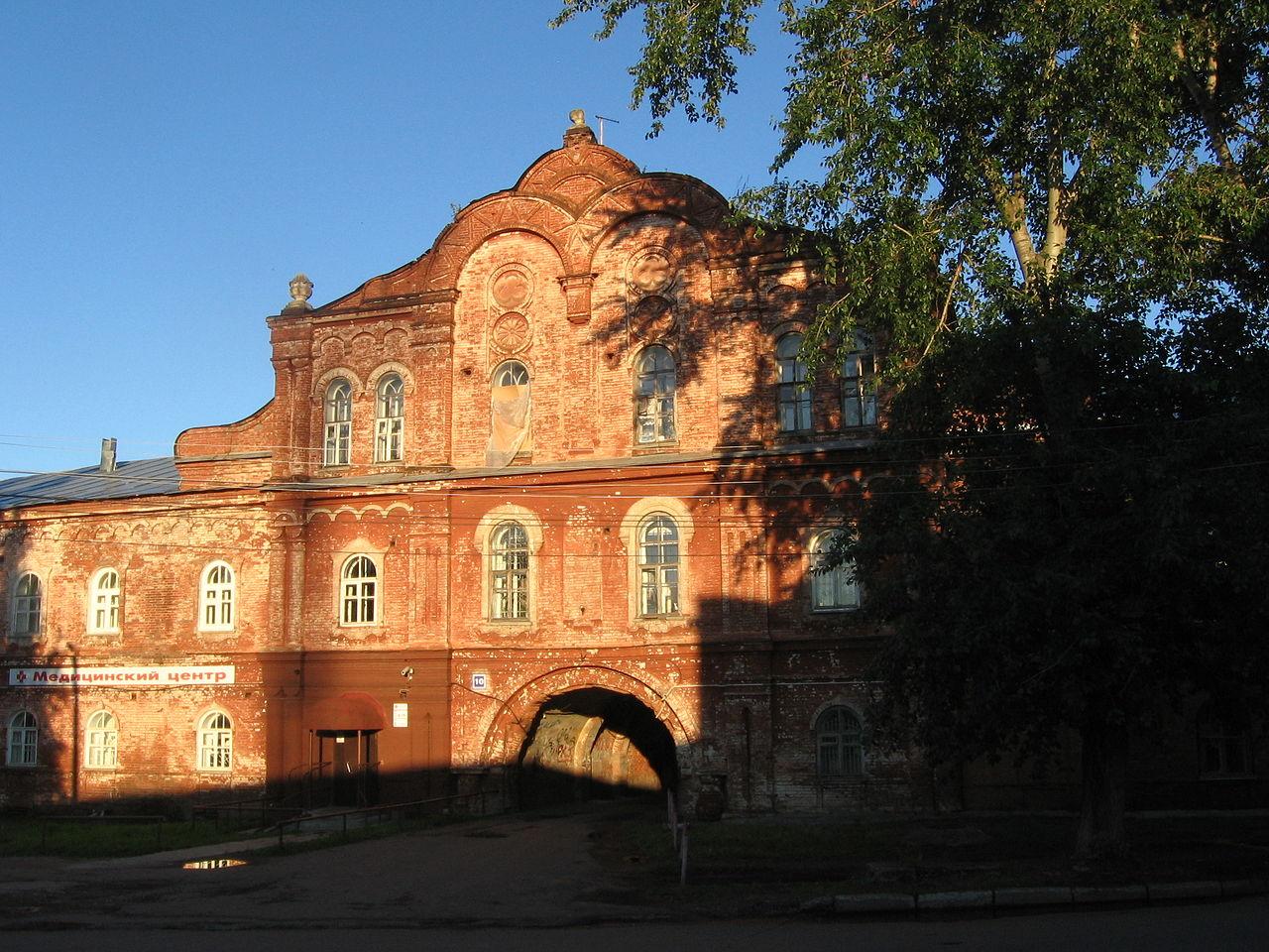 Кельи Вятского Преображенского монастыря в Кирове