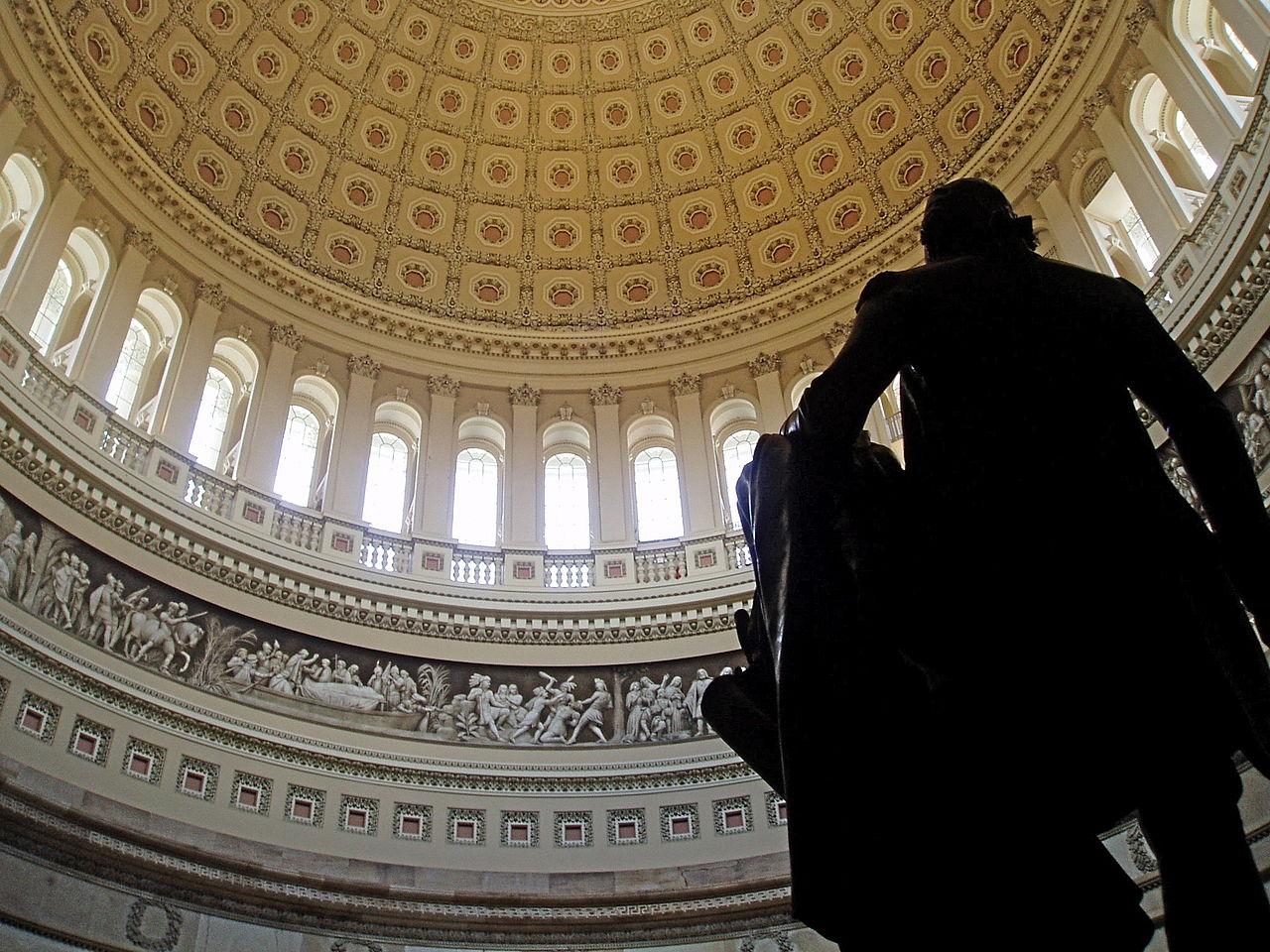 Купол ротонды Капитолия США