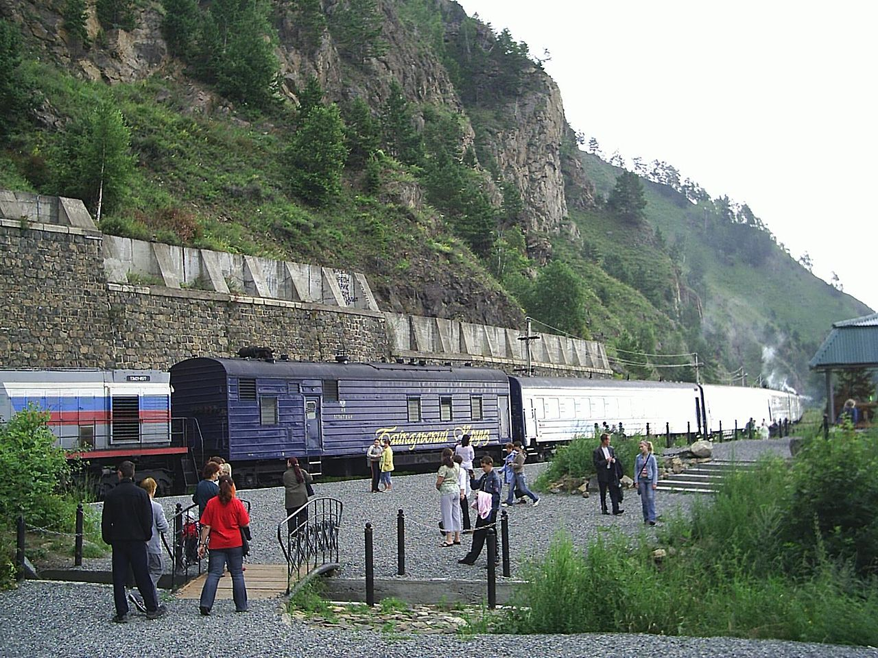 Туристический поезд «Байкальский круиз»