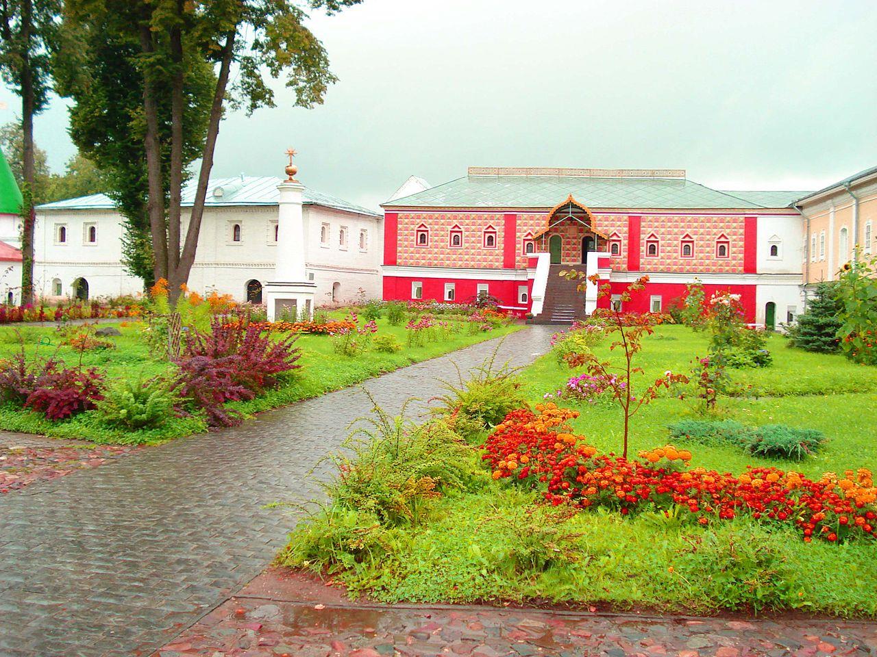 Ипатьевский монастырь, место венчания на царство русских царей