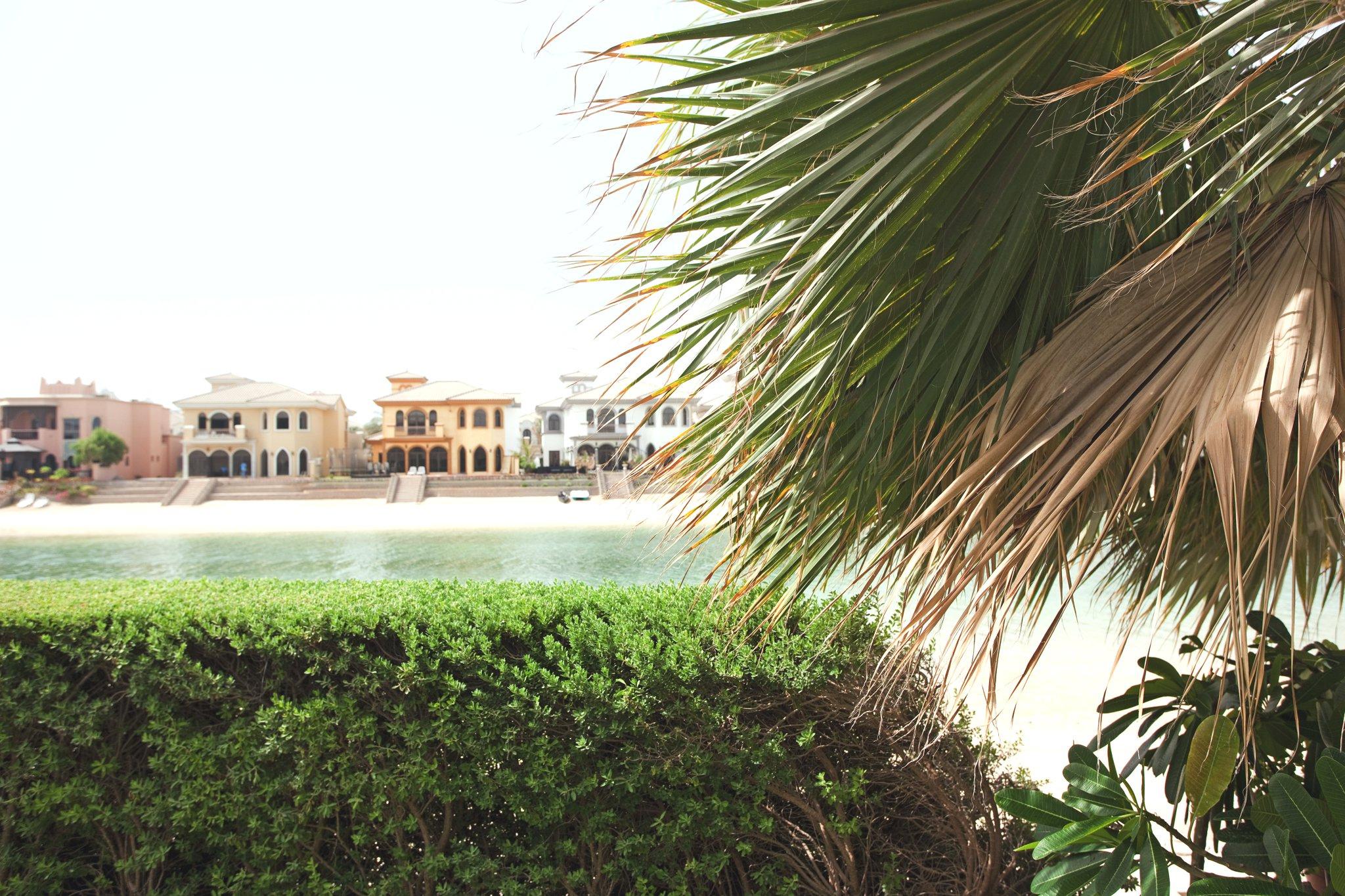 На островах Пальм, Дубай