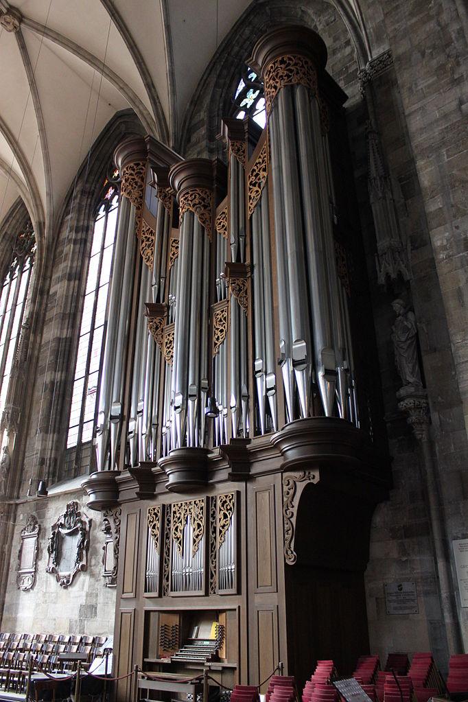 Собор Св. Стефана, орган