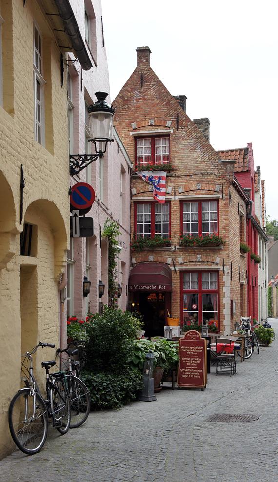 Улицы, Брюгге, Бельгия