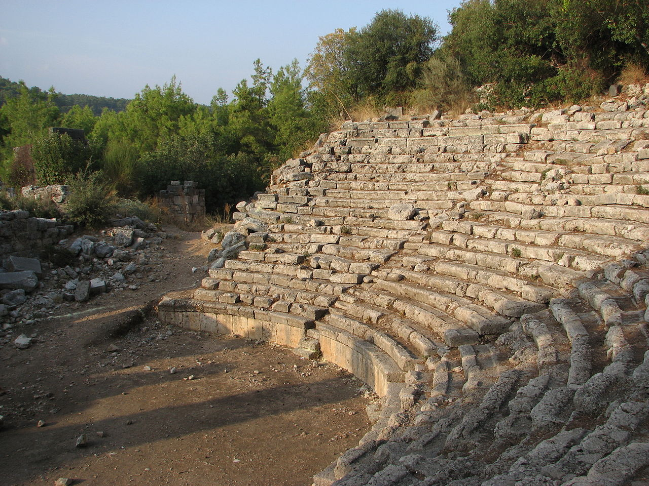 Фаселис, амфитеатр