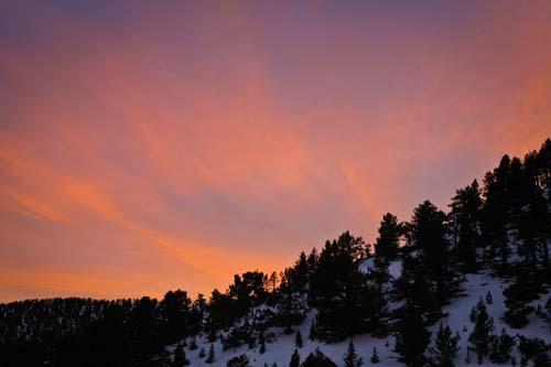 Закат Андорры