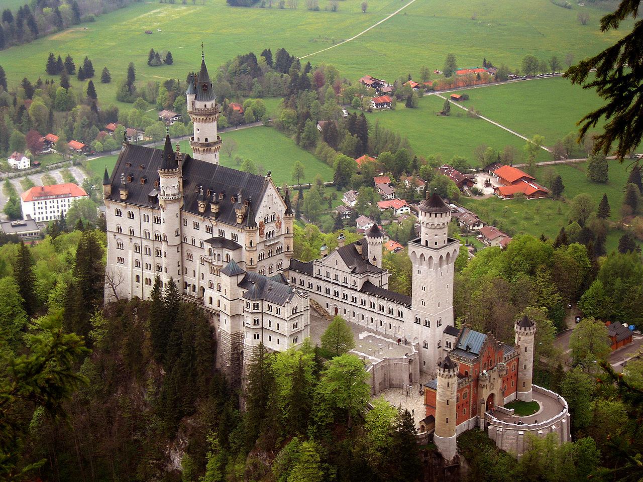 Обои юго-западная, бавария, германия, замок. Города foto 13