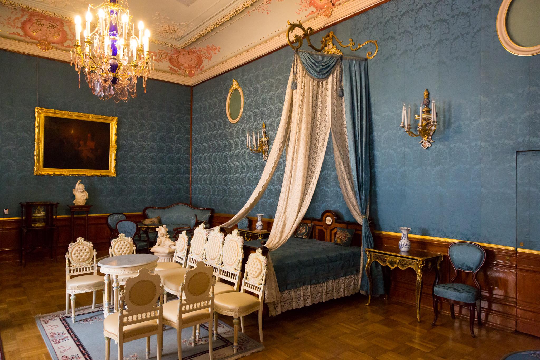 Маленький будуар, Юсуповский дворец в Петербурге