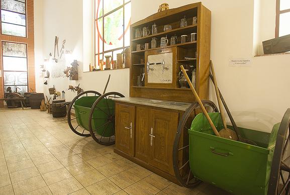 Один из экспонатов, Музей пивоварения «Остравар»
