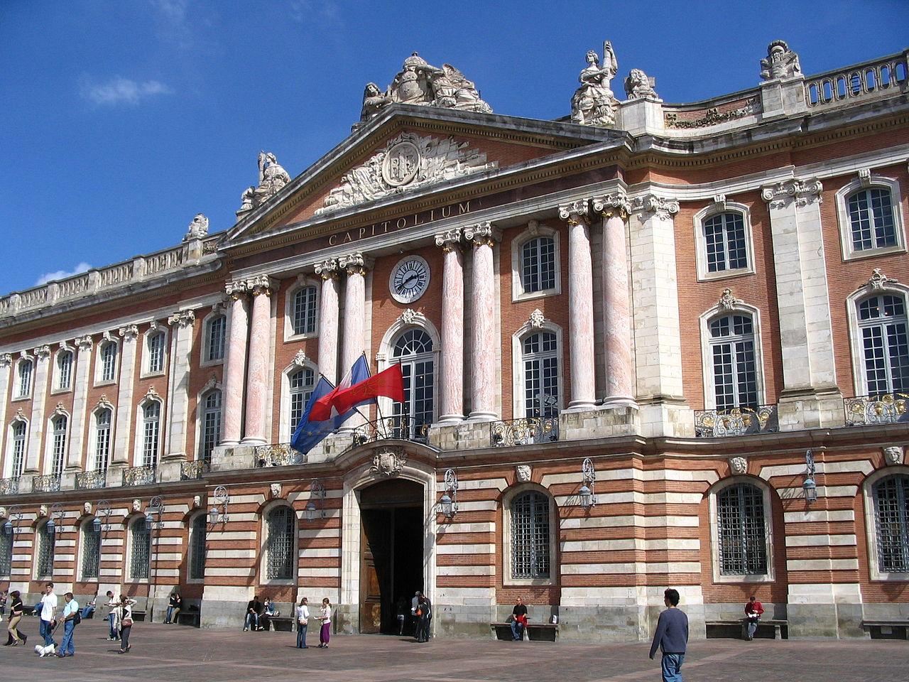 Тулузская ратуша, фасад
