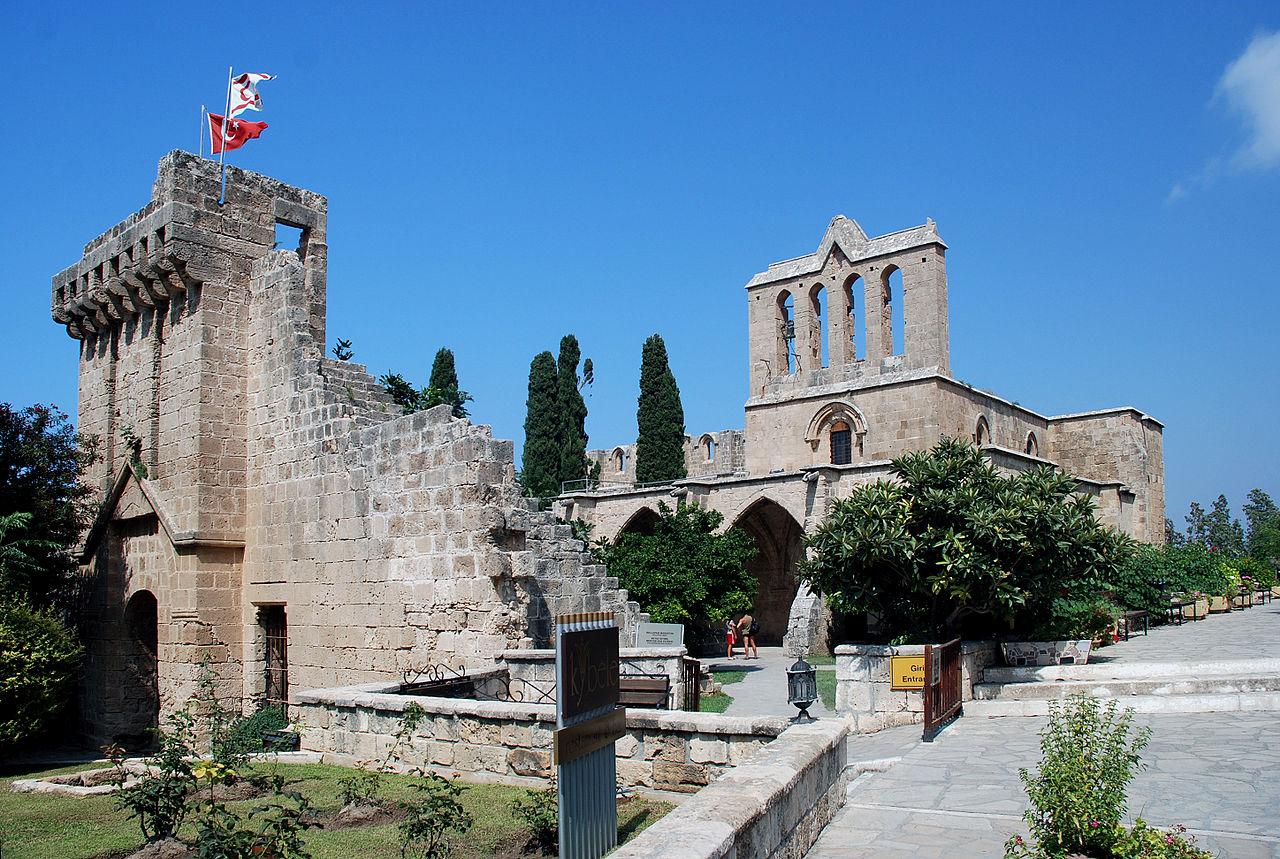 Аббатство Беллапаис вблизи Кирении, Северный Кипр