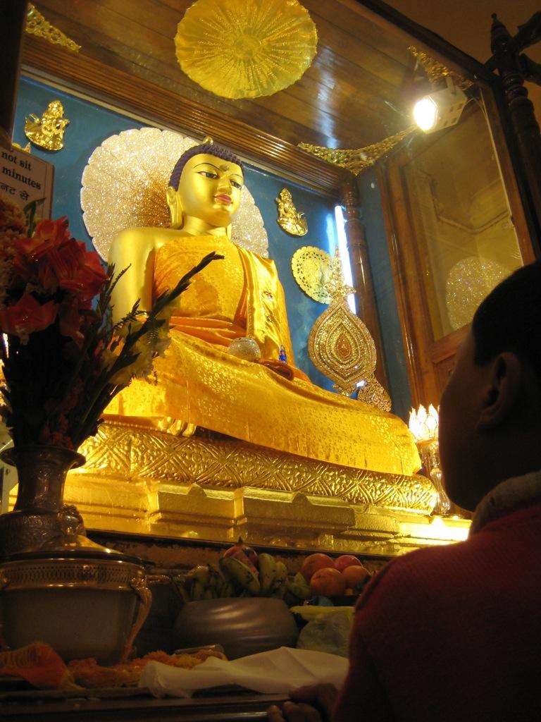 Будда в храме Махабодхи