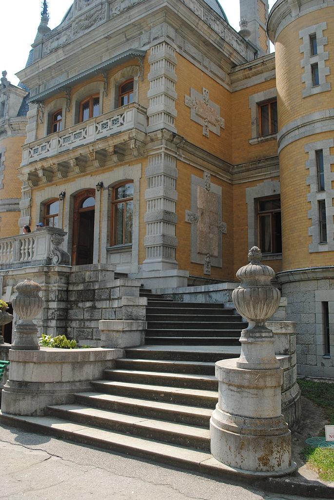 Массандровский дворец, лестница
